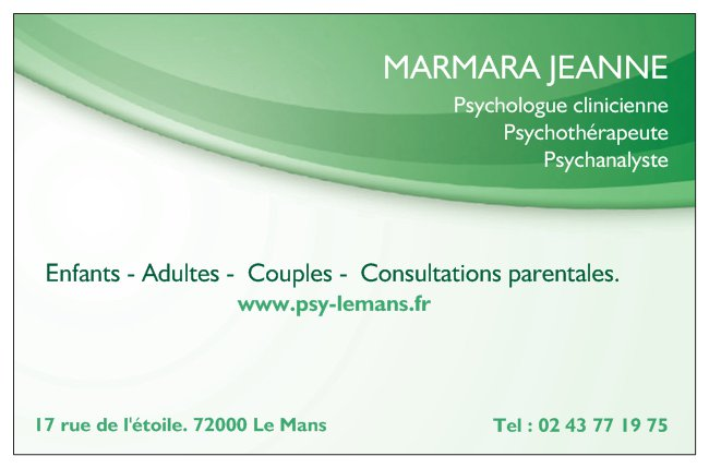 Jeanne Marmara Psychologue Le Mans